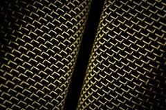 Πλέγμα μικροφώνων Στοκ Εικόνα