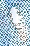 Πλέγμα σιδήρου Στοκ Φωτογραφία