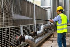 Πλένοντας βιομηχανική περιοχή Στοκ εικόνες με δικαίωμα ελεύθερης χρήσης