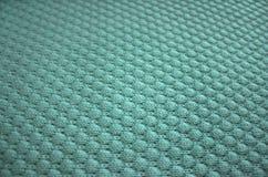 Πλέξτε τη σύσταση του μπλε μαλλιού Στοκ Φωτογραφία