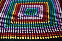 Πλέξτε multicolore τη σύσταση στοκ εικόνες