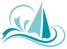 Πλέοντας βάρκα Στοκ Φωτογραφίες