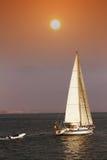 Πλέοντας βάρκα Στοκ φωτογραφία με δικαίωμα ελεύθερης χρήσης