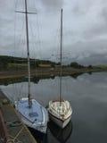 Πλέοντας βάρκες στις ήρεμες προσδέσεις, Ιρλανδία Στοκ Εικόνα