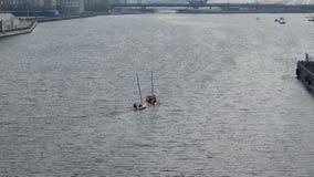 Πλέοντας βάρκες Στοκ Εικόνες