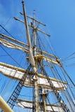 Πλέοντας ιστοί σκαφών Στοκ Εικόνες