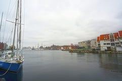 Πλέοντας σκάφος στο λιμένα του Όσλο, Νορβηγία Στοκ εικόνα με δικαίωμα ελεύθερης χρήσης