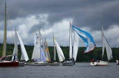Πλέοντας regatta-αέρηδες Στοκ εικόνες με δικαίωμα ελεύθερης χρήσης