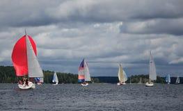 Πλέοντας regatta-αέρηδες Στοκ Φωτογραφία
