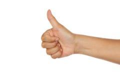 πλήγμα χεριών επάνω Στοκ εικόνες με δικαίωμα ελεύθερης χρήσης
