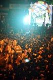 Πλήθη φεστιβάλ Ganesh Στοκ Εικόνες