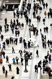 Πλήθος των ανθρώπων στην οδό Στοκ φωτογραφίες με δικαίωμα ελεύθερης χρήσης