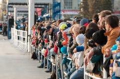 Πλήθος των θεατών Στοκ φωτογραφίες με δικαίωμα ελεύθερης χρήσης