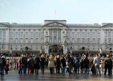 Πλήθος των τουριστών στοκ φωτογραφία με δικαίωμα ελεύθερης χρήσης
