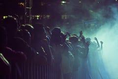 πλήθος Στοκ Φωτογραφία