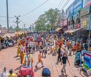 Πλήθος Haridwar Στοκ φωτογραφία με δικαίωμα ελεύθερης χρήσης