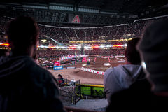 Πλήθος Supercross Στοκ φωτογραφίες με δικαίωμα ελεύθερης χρήσης