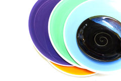 Πλήρες πιάτο χρώματος Στοκ Φωτογραφία