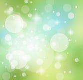 πλήρης άνοιξη λιβαδιών πικραλίδων ανασκόπησης κίτρινη ελεύθερη απεικόνιση δικαιώματος