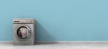 Πλήρης ενιαίος πλυντηρίων Στοκ εικόνες με δικαίωμα ελεύθερης χρήσης