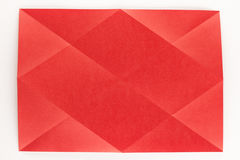 Πλήρης διαγώνια διπλωμένη σελίδα Στοκ φωτογραφίες με δικαίωμα ελεύθερης χρήσης