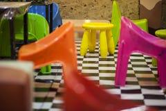 Πλήρης καρέκλα χρώματος Στοκ εικόνες με δικαίωμα ελεύθερης χρήσης