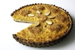 Πλήρης πίτα κολοκύνθης Στοκ εικόνες με δικαίωμα ελεύθερης χρήσης