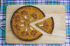 Πλήρης πίτα κολοκύνθης Στοκ φωτογραφία με δικαίωμα ελεύθερης χρήσης