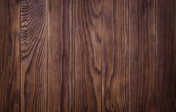 Πλήρης σελίδα του σκοταδιού που λεκιάζουν, στενοχωρημένη ξύλινη σύσταση πινάκων πατωμάτων Στοκ Εικόνες