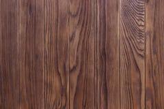 Πλήρης σελίδα του σκοταδιού που λεκιάζουν, στενοχωρημένη ξύλινη σύσταση πινάκων πατωμάτων Στοκ Εικόνα
