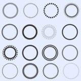 Πλαίσια κύκλων Στοκ Εικόνες