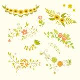 Πλαίσια λουλουδιών φθινοπώρου Στοκ φωτογραφία με δικαίωμα ελεύθερης χρήσης