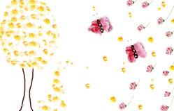 Πλαίσια λουλουδιών Στοκ Εικόνες