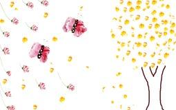 Πλαίσια λουλουδιών Στοκ εικόνες με δικαίωμα ελεύθερης χρήσης