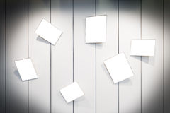 Πλαίσια στον τοίχο Στοκ Φωτογραφία