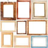 πλαίσια συλλογής ξύλινα στοκ φωτογραφία με δικαίωμα ελεύθερης χρήσης