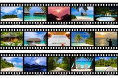 πλαίσια ταινιών το ταξίδι φ&om Στοκ εικόνες με δικαίωμα ελεύθερης χρήσης