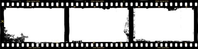 Πλαίσια της ταινίας, βρώμικο πλαίσιο φωτογραφιών Στοκ Φωτογραφία