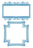 Πλαίσια Doodle Στοκ Εικόνα