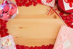 Πλαίσιο για τα μηνύματα αγάπης Στοκ Εικόνα