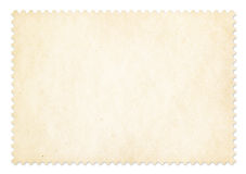 Πλαίσιο γραμματοσήμων που απομονώνεται με το ψαλίδισμα της πορείας Στοκ Φωτογραφίες