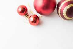 πλαίσιο διακοσμήσεων Χριστουγέννων Στοκ Εικόνα