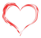 Πλαίσιο καρδιών διανυσματική απεικόνιση