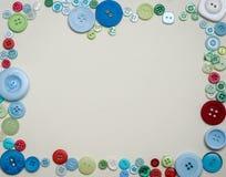 Πλαίσιο κουμπιών Στοκ Εικόνα