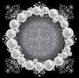 Πλαίσιο μαργαριταριών Στοκ Εικόνες