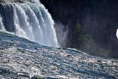 Πλαίσιο οι ίδιοι στο νερό στο κρατικό πάρκο καταρρακτών του Νιαγάρα Στοκ Εικόνα
