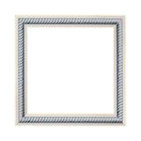 Πλαίσιο που χαράσσεται που απομονώνεται στο άσπρο υπόβαθρο Στοκ φωτογραφία με δικαίωμα ελεύθερης χρήσης