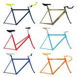 Πλαίσιο ποδηλάτων Στοκ Εικόνες