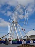 Πλαίσιο ροδών Ferris Στοκ εικόνα με δικαίωμα ελεύθερης χρήσης