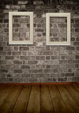 Πλαίσιο σε έναν τοίχο Στοκ φωτογραφίες με δικαίωμα ελεύθερης χρήσης